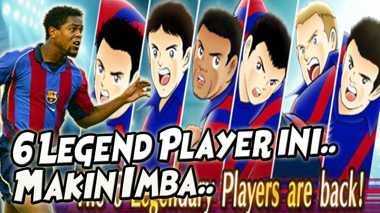 6 LEGEND BARCA INI MAKIN IMBA.. SKILL NYA KOMPLIT SKRG 🔥🔥 Captain Tsubasa Dream Team