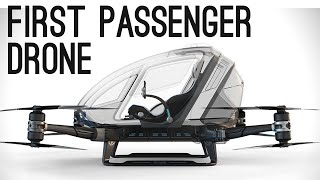 World's First Passenger Drone (Ehang 184) | ColdFusion