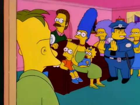 Los Simpson - ¡Eh, eh, sabio, más despacio!