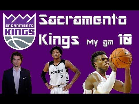 NBA 2K18 ITA My Gm Sacramento Kings #10 - Giocando da soli non si va da nessuna parte