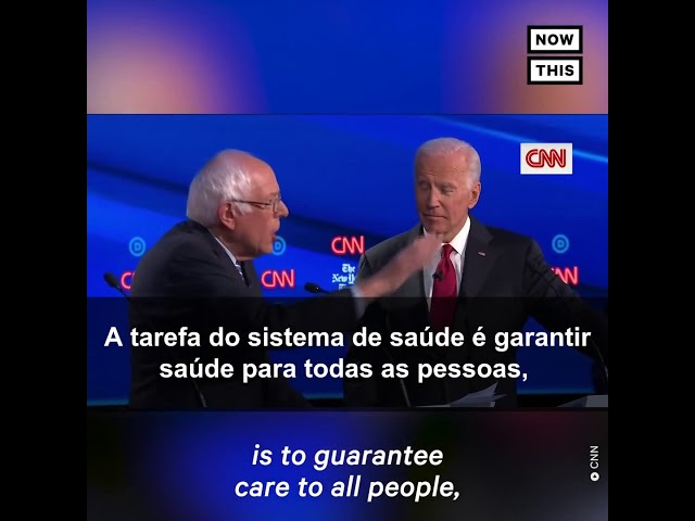 Bernie Sanders no debate democrata Legendado