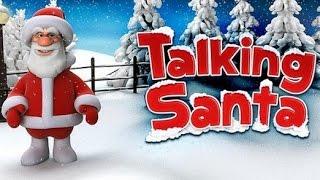 TALKING SANTA Game for Kids - iPhone iPad iOS/ Android (Gameplay / Review) screenshot 1