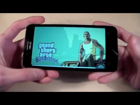 Игры Asus ZenFone Go (GTA:SanAndreras, DeadTrigger2, RealRacing3)