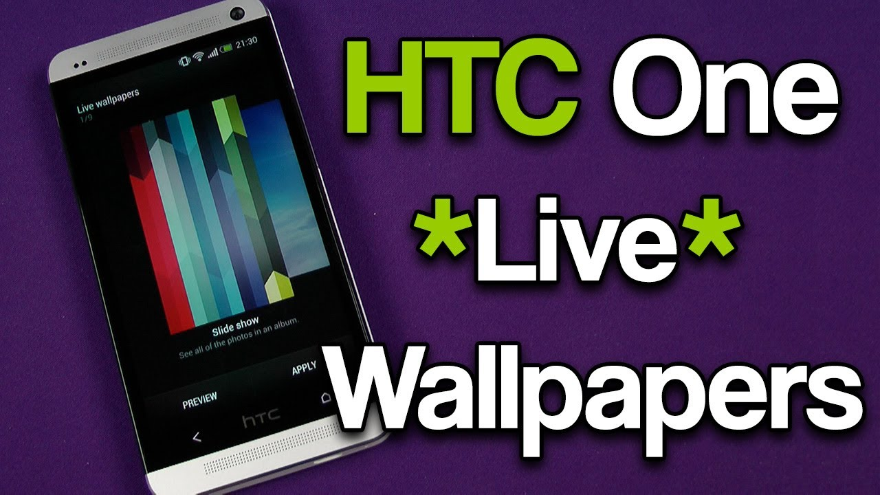 HTC One Live Wallpapers - YouTube