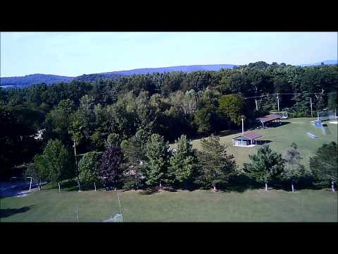U818A-1 quadcopter test drone survey aerial video