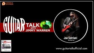 Joe Satriani on Guitar Talk with Jimmy Warren