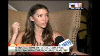 Fernanda Romero: una latina con talento que participa en el film