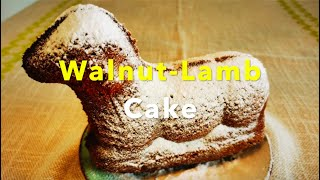 Walnut Lamb Cake Recipe  Simple Delicious Meals