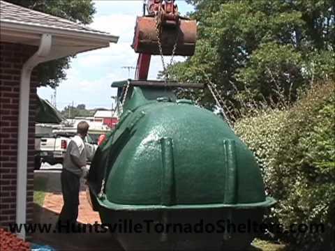 Storm Shelters: Installing A Huntsville Tornado Lifesaver Storm Shelter