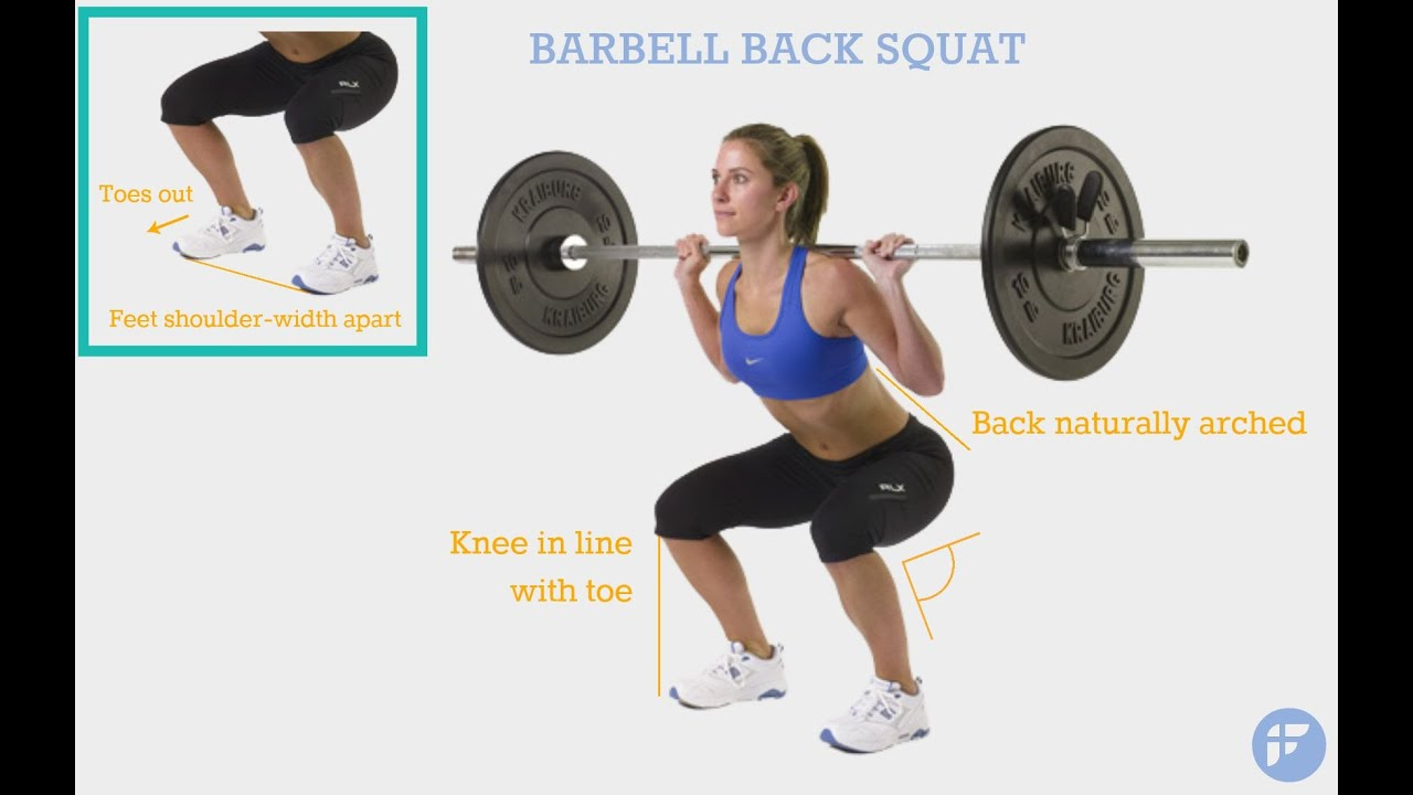 Proper Squat Form - Beginner's Guide to Get Acquainted with Squats ...