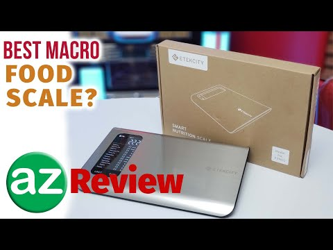 The Best Food Scale For Macros - Smart Nutrition Scale