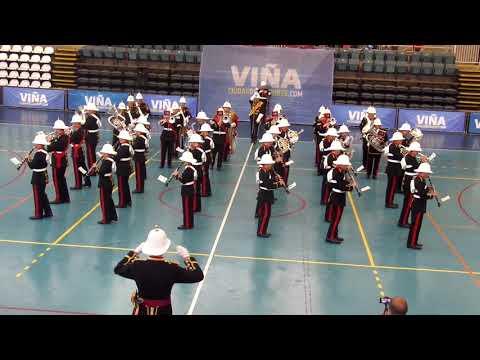Bicentenario Armada de Chile, Royal Marines Band, Tattoo 2018 Viña del Mar