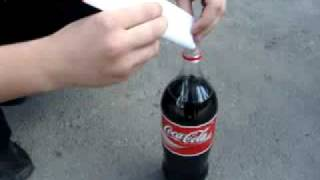 Кока кола + ментос(, 2009-06-15T16:21:16.000Z)