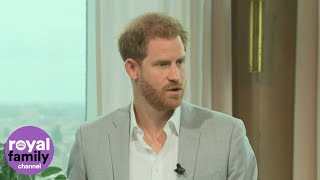 Duke of Sussex Hints Baby Archie Has Been Giving Him 'Sleepless Nights'