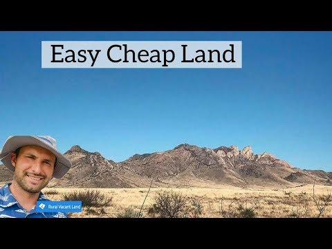 Cochise County Arizona Land For Sale