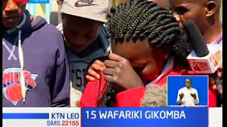 Kiini cha moto wa Gikomba ulioua 15 bado haujabainika