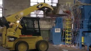 La 2e vie des objets: le recyclage des câbles.