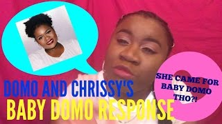 domo and crissy baby ugly crowned queen tv response