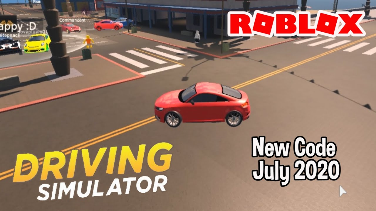 Roblox Driving Simulator New Code July 2020 - YouTube