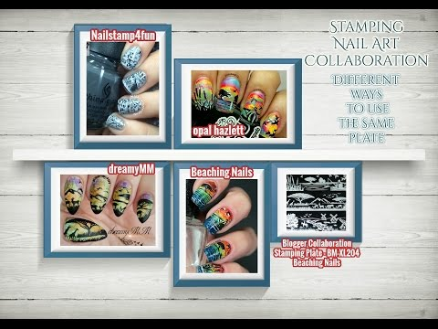 Special Nail Stamping Collaboration