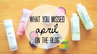 Blog Recap: April | 2014 Thumbnail