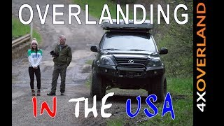 OVERLANDING IN THE USA, Report 1 | 4xOverland