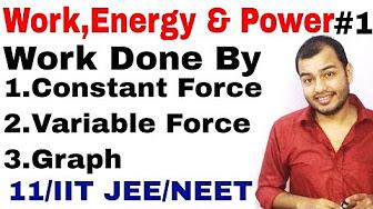 Work Energy And Power Physics Wallah Youtube