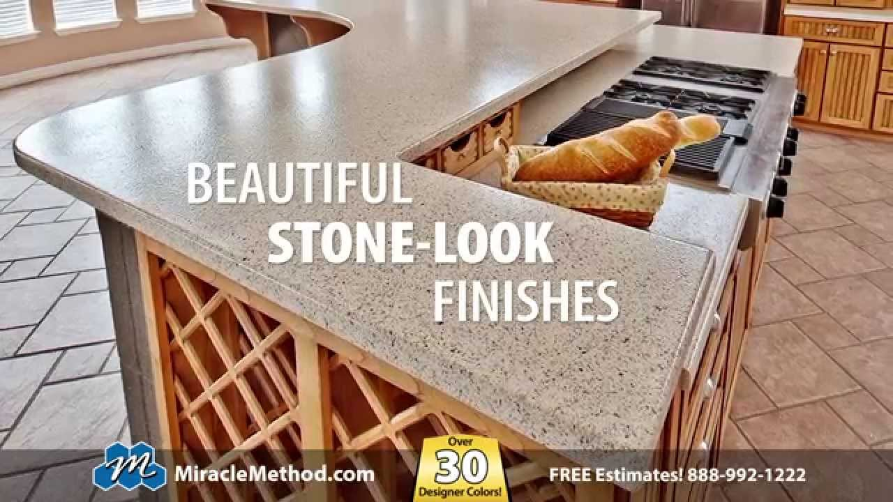 Miracle Method Countertop Refinishing - YouTube