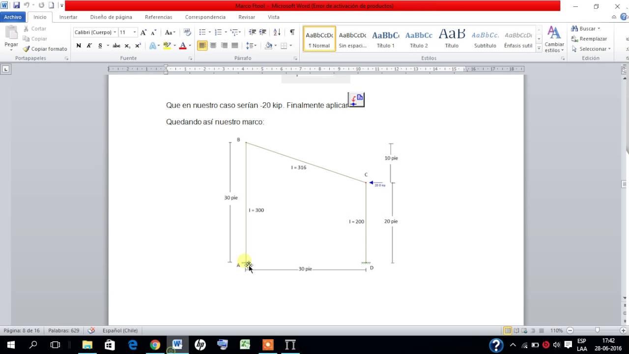 Análisis de Marco en programa FTool - Cristian Ojeda & Ariel Nova ...