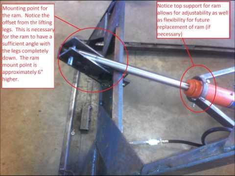 Homemade Portable Hydraulic Vehicle Scissor Lift Doovi