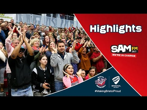 HIGHLIGHTS: Bristol Flyers 93-72 Manchester Giants