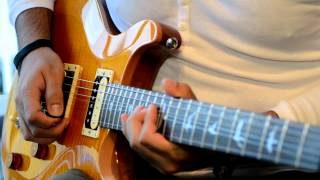 Samba Pa Ti (cover) PRS SE Santana