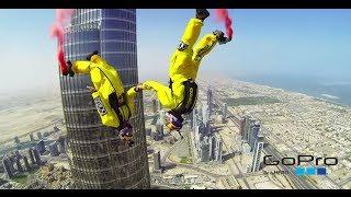 Amazing Jumping Dubai - Burj Khalifa - Salto Dubai Go Pro.