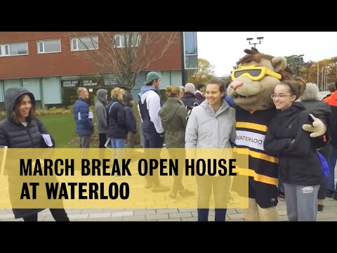 March Break Open House At The University Of Waterloo