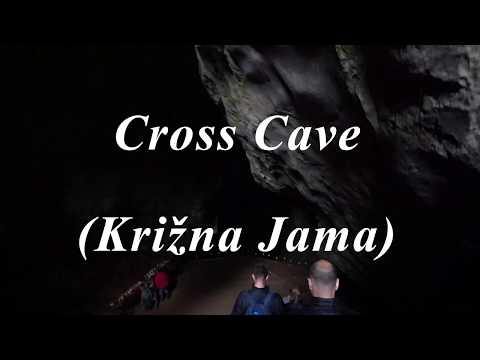 Slovenian Cross Cave Walking Guided Tour.