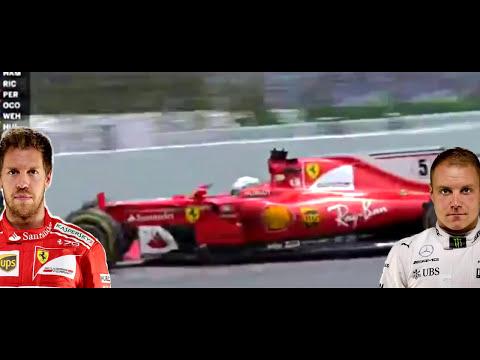 Amazing Race - Vettel vs Bottas - F1 Spanish GP 2017