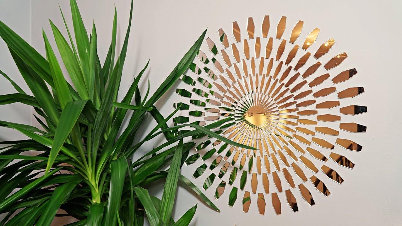Unique Decoration For Your Interior Acrylic Mirror Daisy