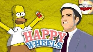 Happy Wheels: Design-A-Homer - GameSocietyPimps