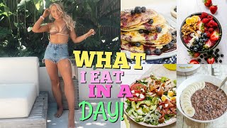 WHAT I realistically EAT IN A DAY!!