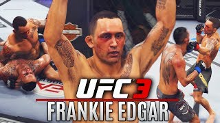 Frankie Edgar! Why Does Everyone Use Him? Let's Find Out - EA Sports UFC 3 Online Gameplay