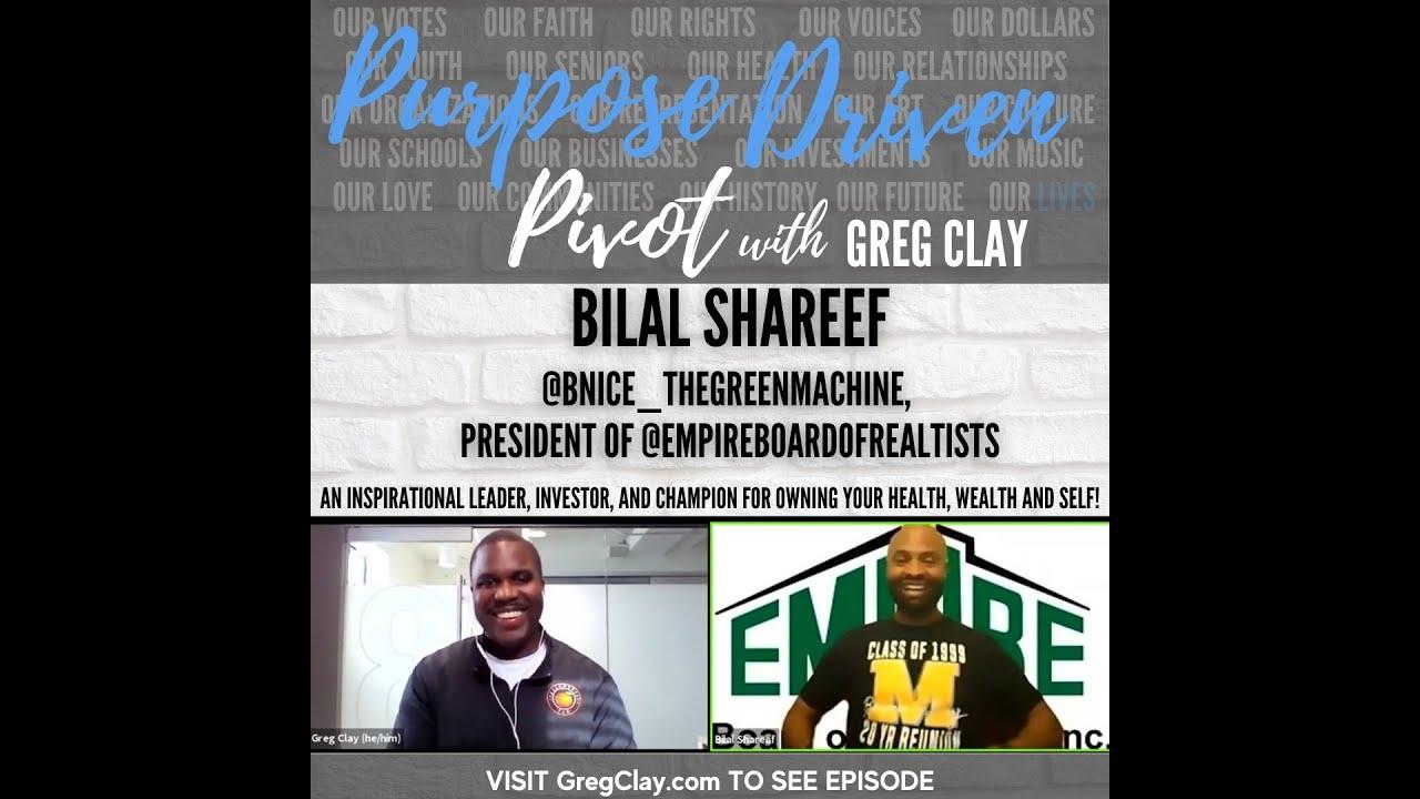 Purpose Driven Pivot , feat. Bilal Shareef
