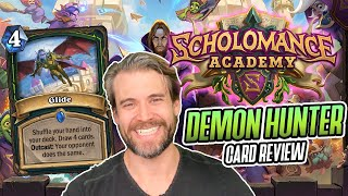 (Hearthstone) Scholomance Academy - Demon Hunter Card Review