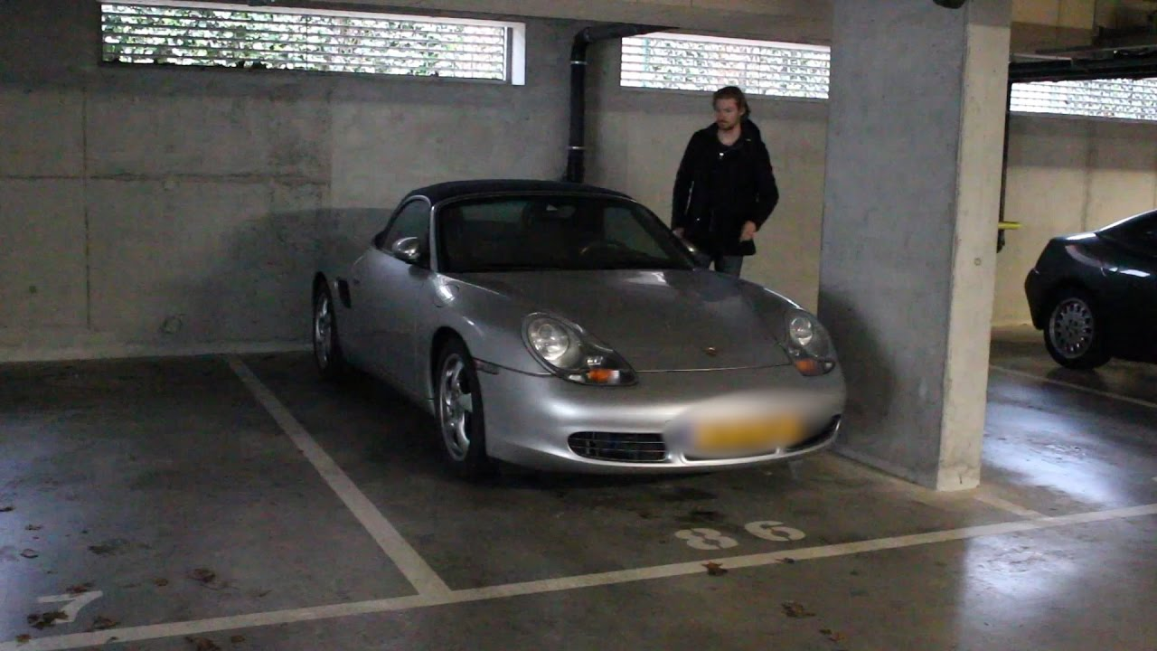 Porsche 986 Boxster S Battery Placement And Parking Maneuvers With Subles
