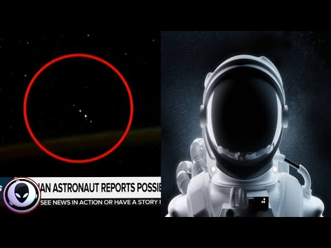 "SECURE TEAM 10 - Russian Astronaut Films ""Something"" Above Earth!"