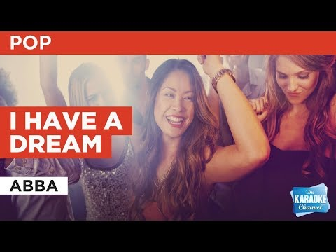 I Have A Dream in the style of ABBA | Karaoke with Lyrics