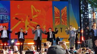 190515 Fire BTS 방탄소년단 Good Morning America GMA Summer Concert New York