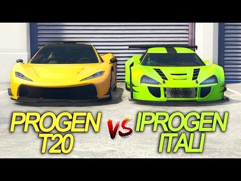 T20 Vs ITALI GTB ¿CUAL ES MAS RAPIDO? GTA V Online Test de velocidad