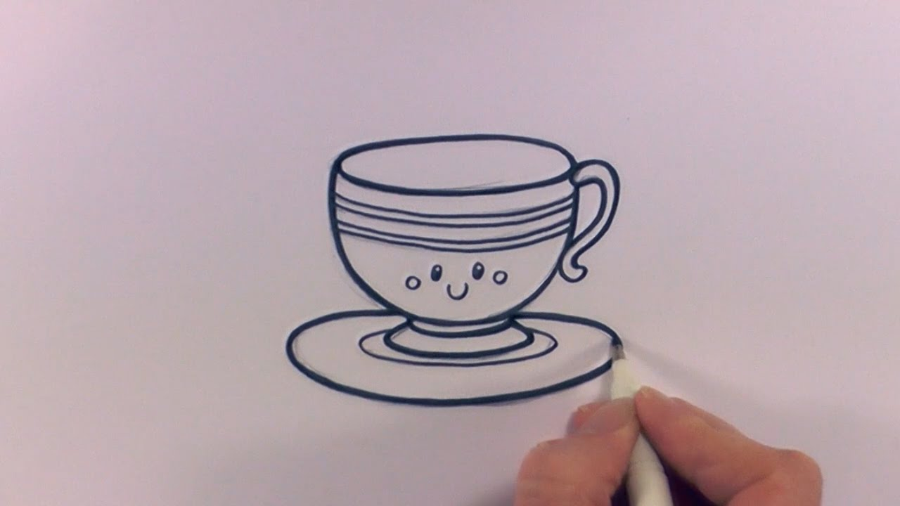 Cute Teacup Sketch