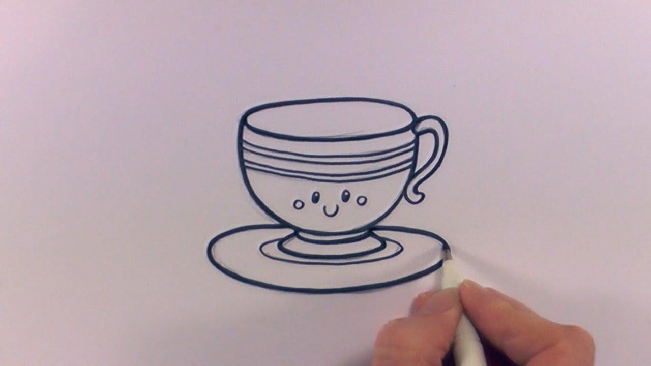 Cute Teacup Sketch