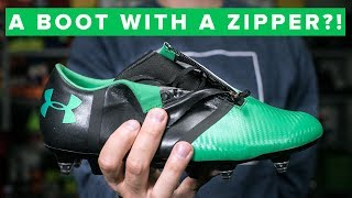 UNISPORT | A BOOT WITH A ZIPPER! Under Armour Spotlight